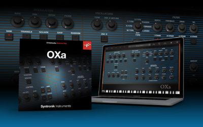 Wersja VST Oberheim OB-Xa od IK Multimedia OXa za darmo